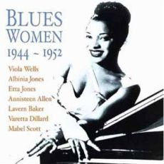 Diverse artister - Blues Women 1944-1952