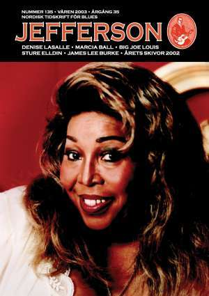 Jefferson issue 135 cover featuring Denise LaSalle
