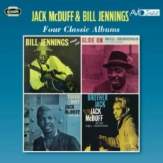 "DIVERSE ARTISTER - Four Classic Albums Bill Jennings: Enough Said & Glide On; Jack McDuff: Tough ´Duff"" & Brother Jack - Four Classic Albums: Jack McDuff: The Honeydripper; ""Baby Face"" Willette: Face To Face; Richard Holmes & Gene Ammons: Groovin´ With Ju"