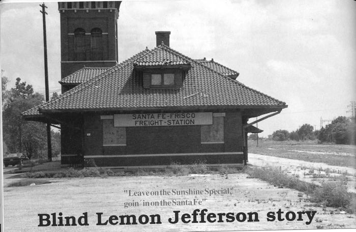Blind Lemon Jefferson story